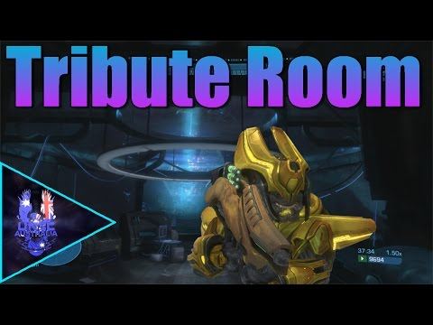 Halo Reach: Tribute Room Easter Egg - w/ UNSC Aspect