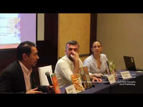 Cooking the Book | Chef Gene Gonzales, Xavier Btesh, Stephanie Zubiri-Crespi | Anvil Publishing