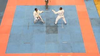 Mens 75kg + Kumite - Sonny Roberts Round 1 Part 2