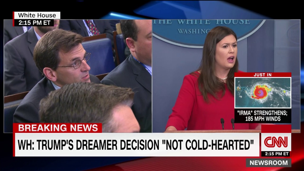 White House press briefing - DACA repeal (entire Q&A)