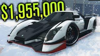 NEW $1,955,000 RACE CAR BUILD?! | Overflod Autarch | GTA V (Online)
