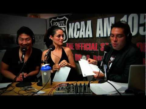 Brian Tee of Jurassic Park & Mirelly Taylor on LIVE with Aaron & Kelly