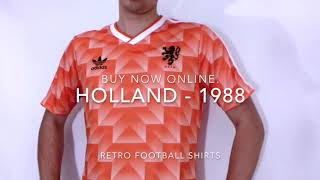 Holland - 1988 Euro's Retro Football Jersey