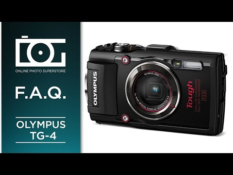 Olympus TG-4 Most Asked Questions Tutorial: Stylus Tough Wat