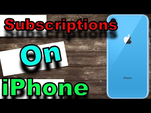 How to Cancel Subscriptions on iPhone or iPad 2019