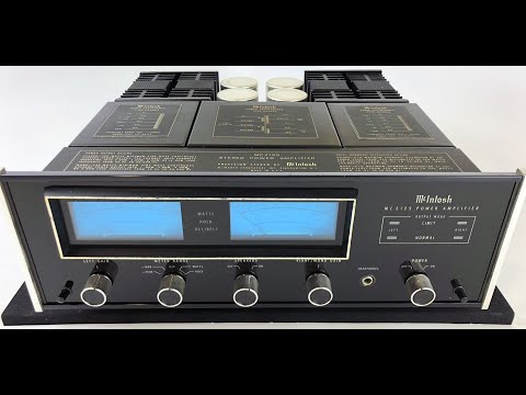 SkyFi Audio Review, McIntosh MC2125 Solid State Stereo Amplifier