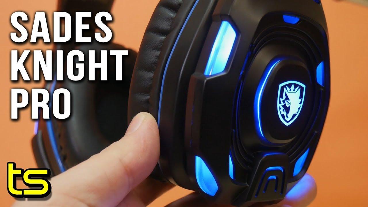 Review Of The Sades Knight Plus Wired Gaming Headset Audio Pro Bongiovi 71