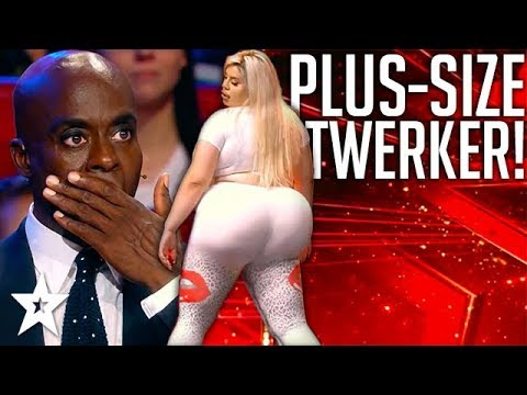 PLUS-SIZE Twerker Shocks Judges on Got Talent Germany | Got Talent Global