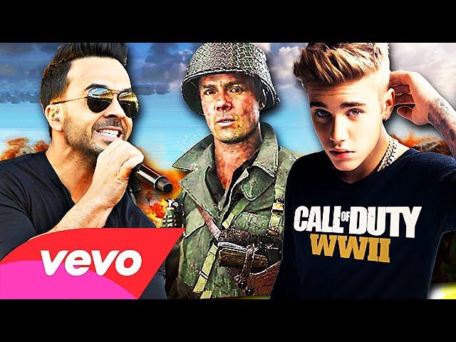 Call Of Duty Wwii Despacito Song Parody Luis Fonsi Ft Daddy Yankee