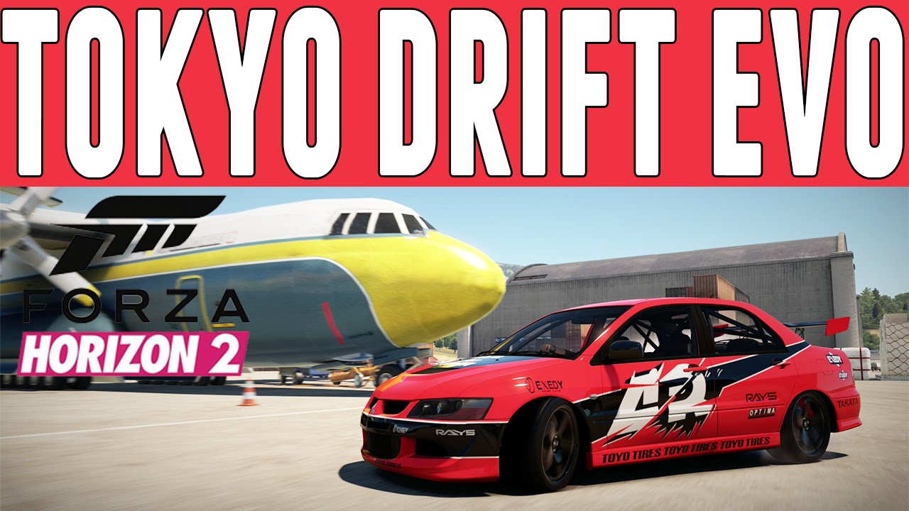 Forza Horizon 2 Fast  Furious Drift Build  Seans Evo Drift