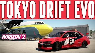 Forza Horizon 2 Fast & Furious Drift Build : Sean's Evo Drift Build
