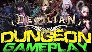Devilian - Dungeon Gameplay