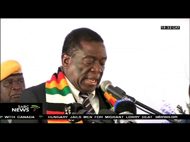 Zimbabwe opens a $30 million beverages plant.