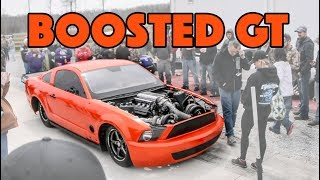 BoostedGT New Mustang Warm Up & Shakedown Pass
