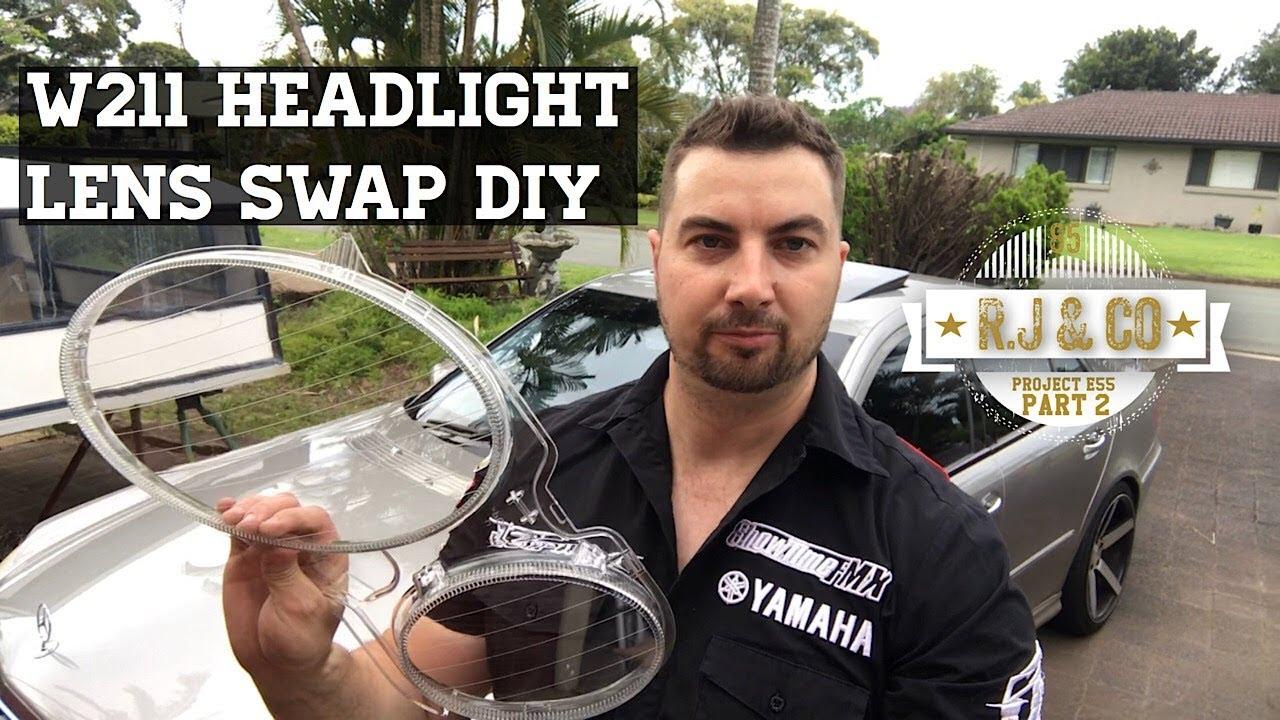 50 Headlight Lens Swap Diy E55 Amg W211 Youtube 2000 E320 Wiring Harness