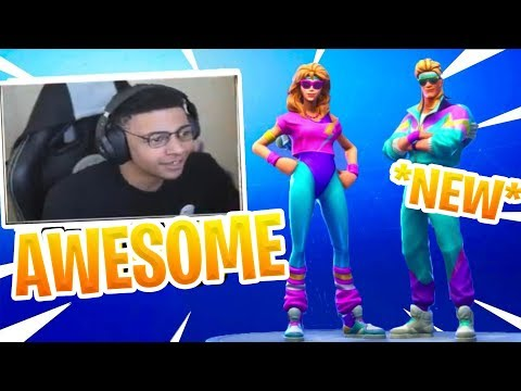 Myth Reacts To *NEW* AEROBIC ASSASIN + Mullet Marauder Skin - Fortnite Epic & Funny Moments