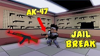 AK-47, GUN SHOP & MORE!!! (ROBLOX Jailbreak) [NEW UPDATE]