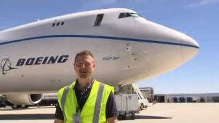 How a Million Pound 747-8 Tests It