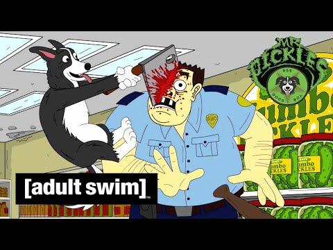 Adult Swim VF - Mr Pickles 🇫🇷   La Tarte De La Fête Des Pères [extrait S01E02]