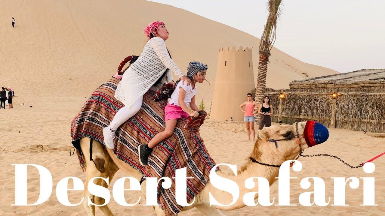 OUR DESERT SAFARI EXPERIENCE IN ABU DHABI ❤️