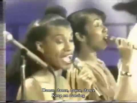"""Dance Dance Dance"" by Chic with karaoke lyrics"
