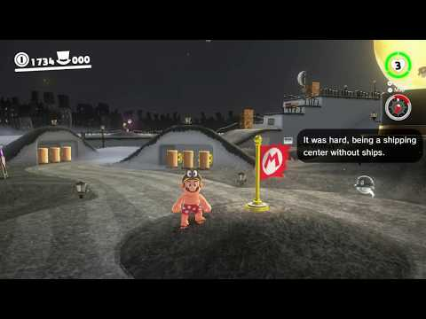 Cap Kingdom - Moon 13: Taxi Flying Through Bonneton - Super Mario Odyssey