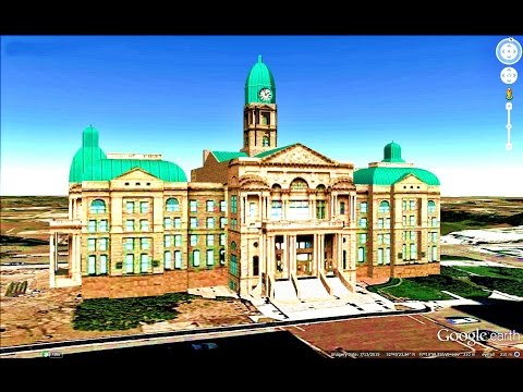 HISTORICAL PLACES OF TEXAS STATE,U S A  IN GOOGLE EARTH PART TWO ( 2/2 )