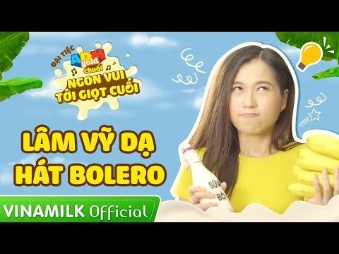 Lâm Vỹ Dạ hát bolero dụ con trai ăn chuối uống sữa | Đại tiệc ADM Gold Chuối