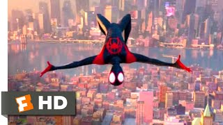 Gambar cover Spider-Man: Into the Spider-Verse (2018) - The One and Only Spider-Man Scene (10/10) | Movieclips