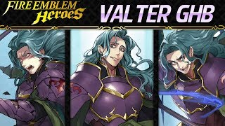 Fire Emblem Heroes - Grand Hero Battle Valter INFERNALLunatic F2P Units [3 Infernal Soluti ...