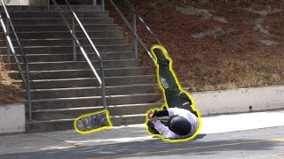 When Skaters Fall Down and Go Boom