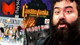 The BEST PS1 Games? Castlevania Symphony of the Night vs Final Fantasy IX vs Silent Hill - Madness