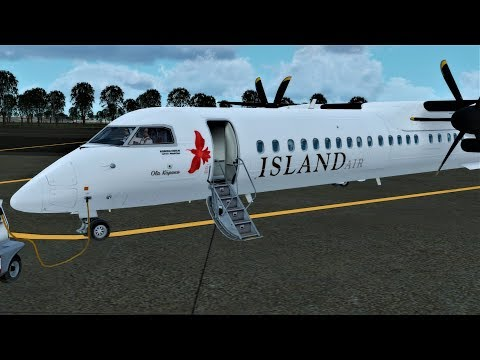 [P3D][V4.1] Dash 8 Island Hop at Hawaii