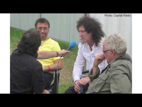 Interview: Queen + Paul Rodgers with Nicky Horne Capital Gold Hyde Park 15 07 2005 ed