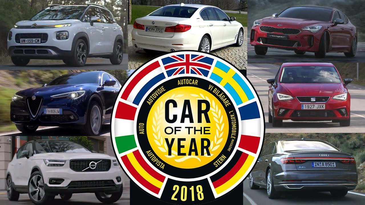 2018 European Car Of The Year Finalists Announced Youtube