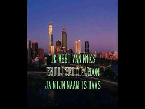 Lowland Trio -  Mijn naam is haas ( KARAOKE ) Lyrics