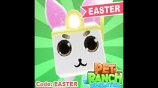 [🥚 CODE 🥚 ] [🥚 EASTER 🥚] 🐾Pet Ranch Simulator | ROBLOX (CODE IN BEGINNING OF VIDEO)