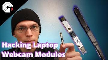 Hacking Laptop Webcam Modules into USB Cameras w/ Glytch