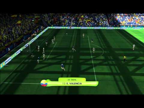 2014 FIFA World Cup Brazil Simulation - Match 26 - Honduras vs Ecuador Group