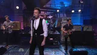 Brandon Flowers - Crossfire (Tonight show with Jay Leno 2010)