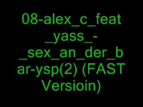 Alex c sex an der bar