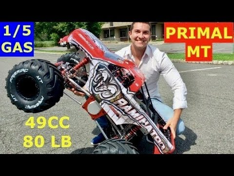 PRIMAL MT Raminator 1/5 GAS  - I Finally Got It - Lets Go Pick It Up at Headquarters.