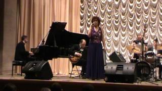 Светлана Панова C оркестром В Толкачева Cry Me A River 2011