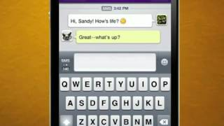 Yahoo! Messenger app for iPhone overview