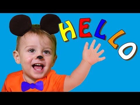 Hello  song and What's your name? Nursery Rhymes songs for kids by LM