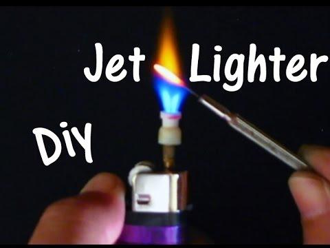 HomeMade__DIY a Jet lighters.