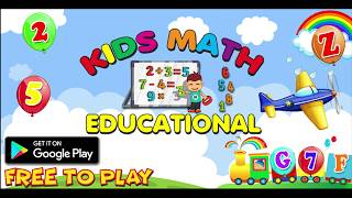 Kids Math Educational Fun- Balloon Pop Free Games | Fun Kids Game Studio - Educational Apps For Kids