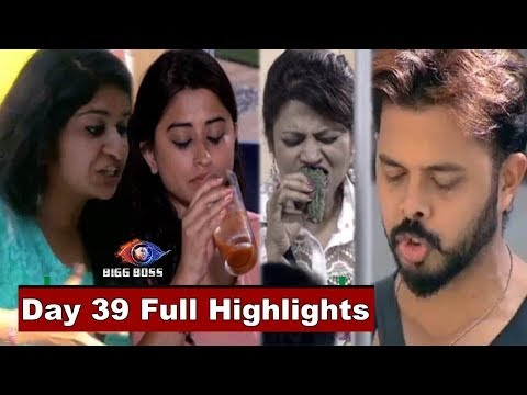 Bigg Boss 12 : Watch Day 39 Full Highlights | BB 12 | Bigg Boss Season 12