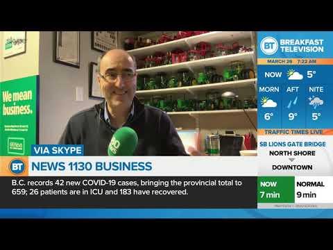 NEWS 1130 Business Update: Mar. 26