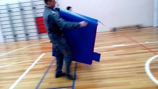 Мягкая защита на ворота складные для минифутбола и гандбола(, 2016-11-03T13:36:29.000Z)